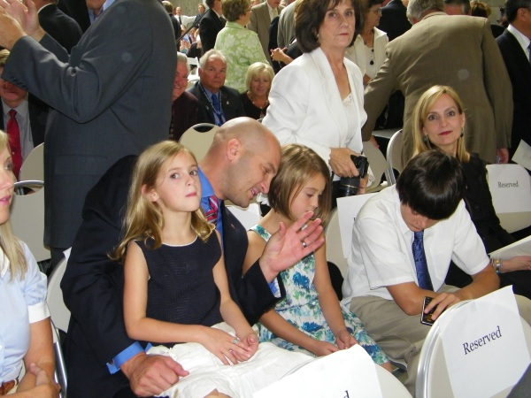 SL County GOP chair, Thomas Wright and family
