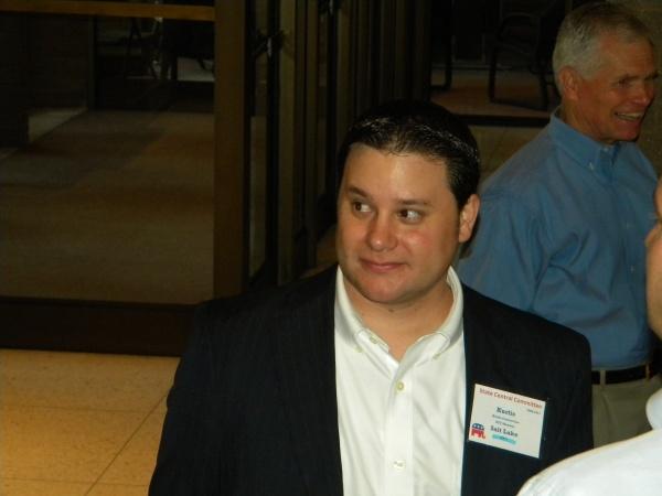 Kurtis Constantine, SL County party secretary